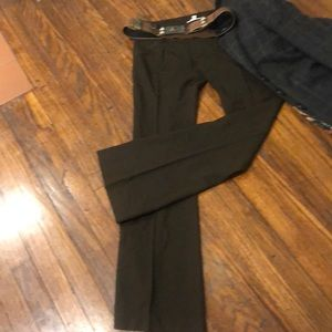 ALICE&OLIVA flawless chocolate trousers